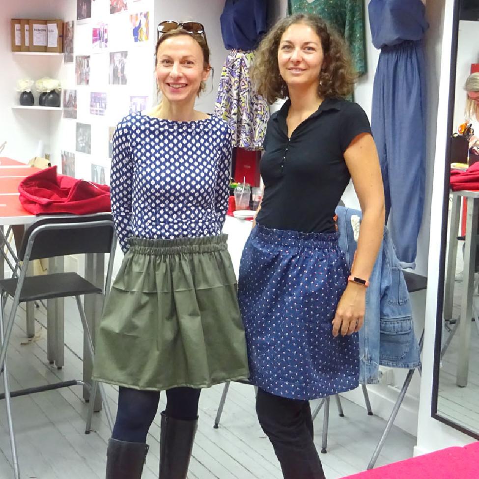 Mardi 19 novembre 10h-13h Jupe Bohème - Cours de couture
