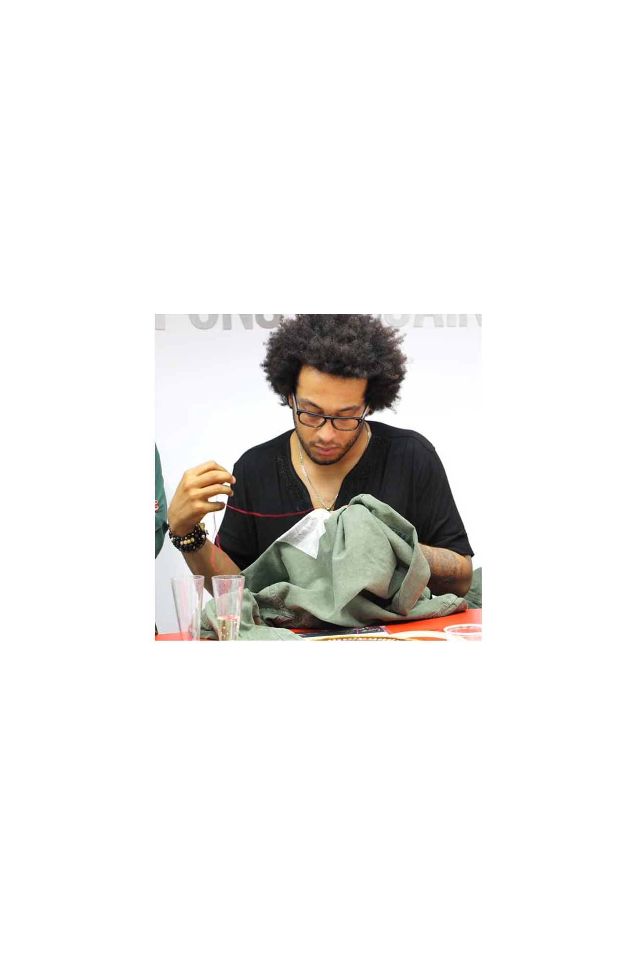 Samedi 16 novembre 10h-12h Tee-shirt brodé - Cours de broderie DMC