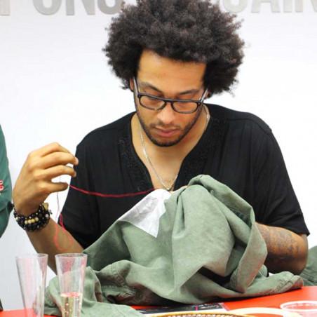 Samedi 23 novembre 16h-18h Tee-shirt brodé - Cours de broderie DMC