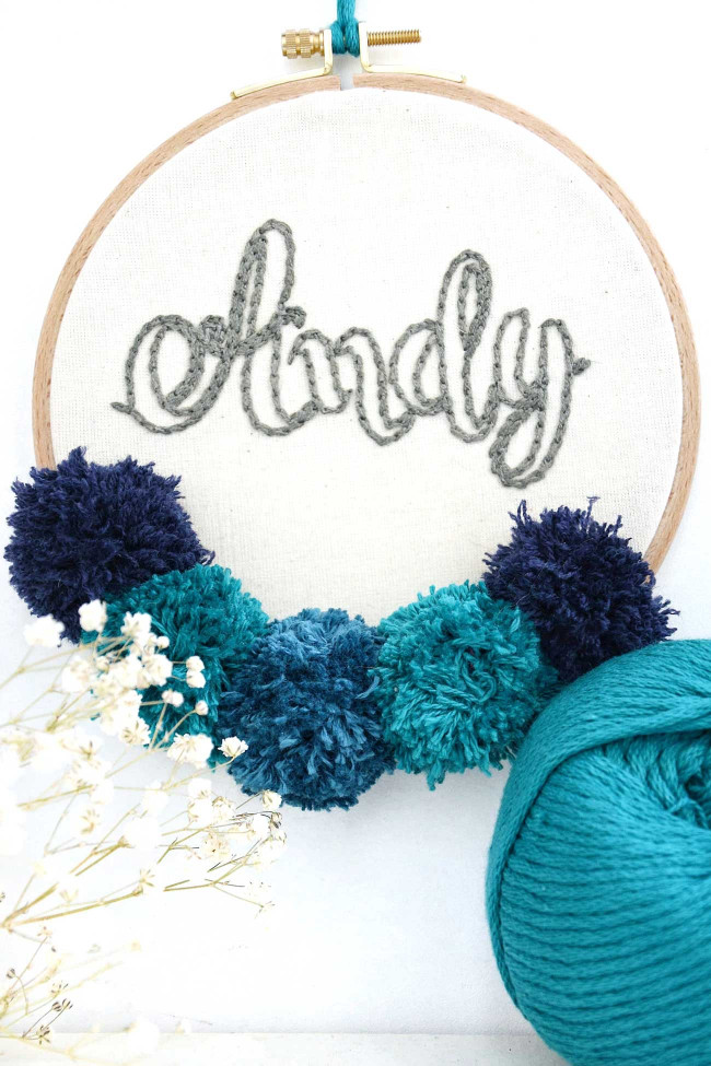 Atelier Pompons & broderie