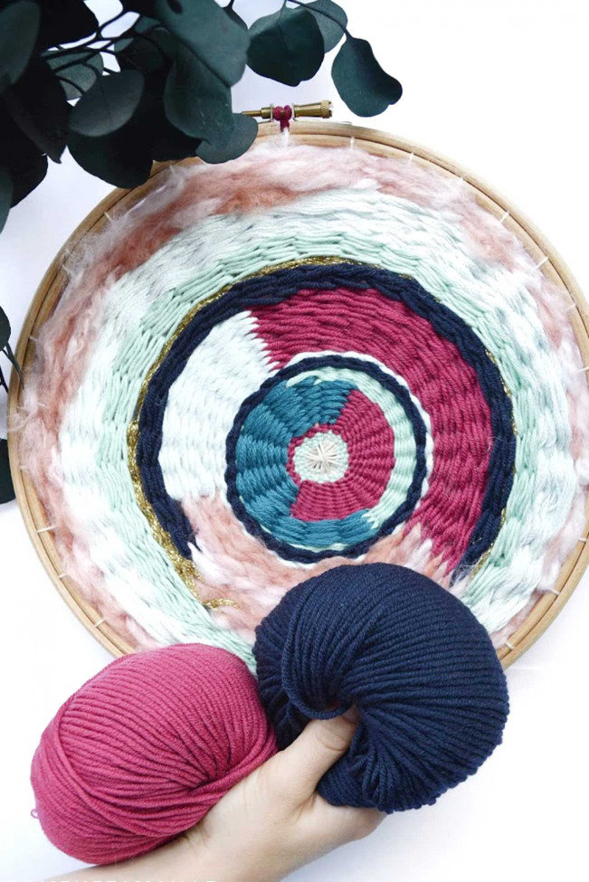 Atelier Tissage circulaire
