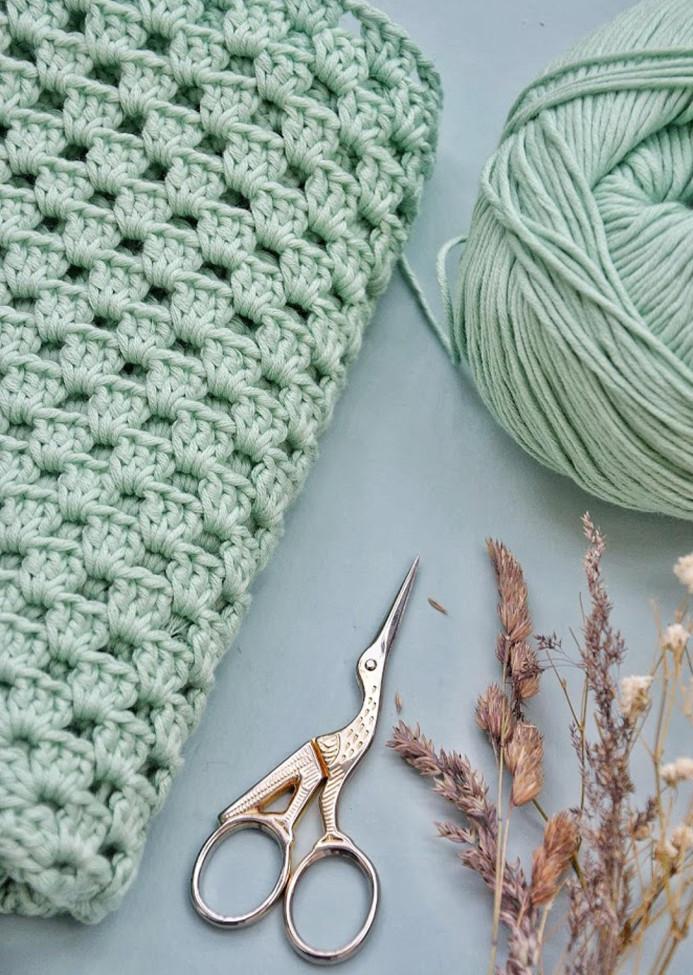 Atelier couverture crochetée