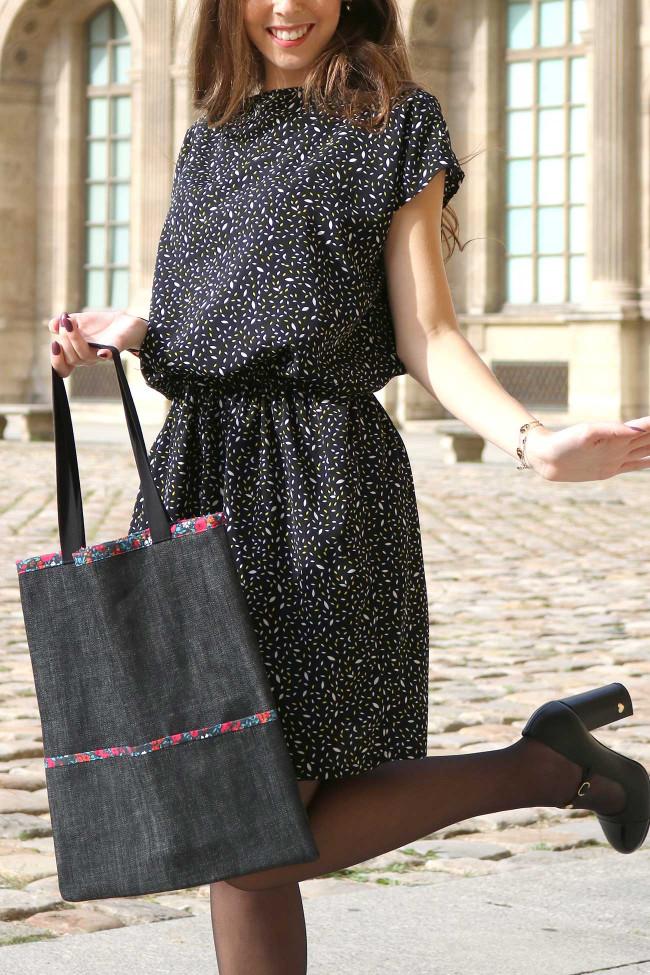 coudre une robe et un sac